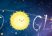 Google Doodle follows Geminid meteor bathe to Earth