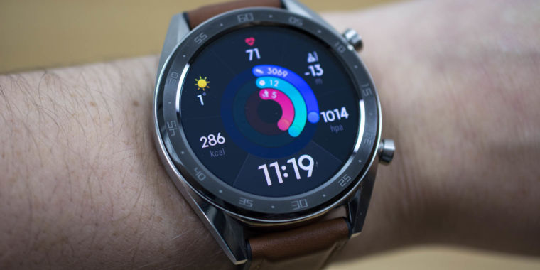 Huawei Watch GT evaluation: When software and hardware do not fit together