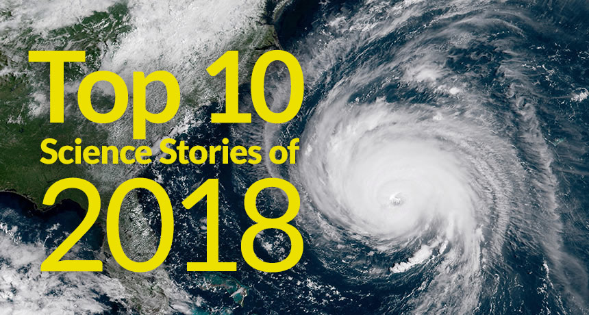 Leading 10 stories of 2018: Environment modification, gene-edited infants, concealed craters and more