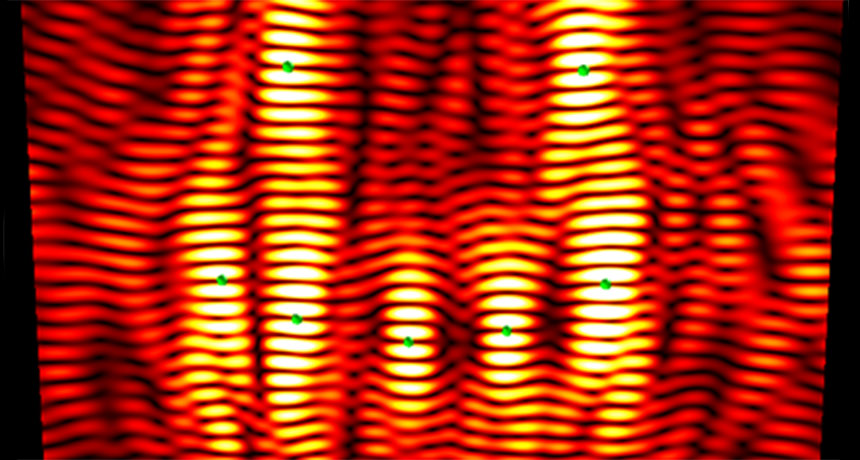 These acoustic waves can levitate and move particles in brand-new methods