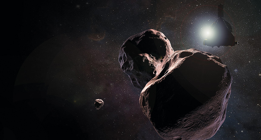 New Horizons prepares for its close encounter with Ultima Thule
