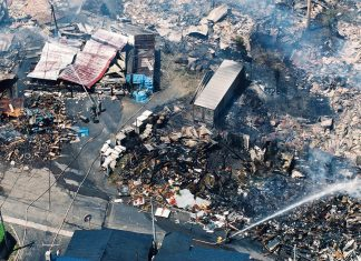 The Weird Factor 'Tsunami Fires' Broke Out After Japan Earthquake