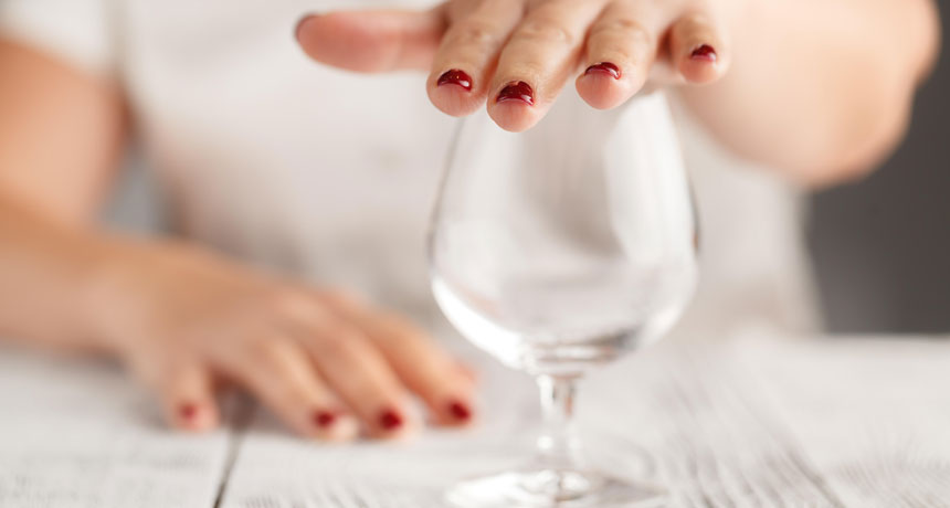 Drinking research studies muddied the waters around the security of alcohol usage