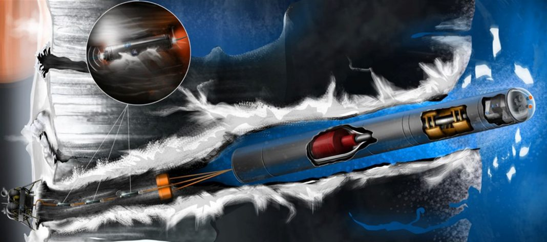 A Nuclear-Powered Tunneling Robotic that Might Look For Life on Europa