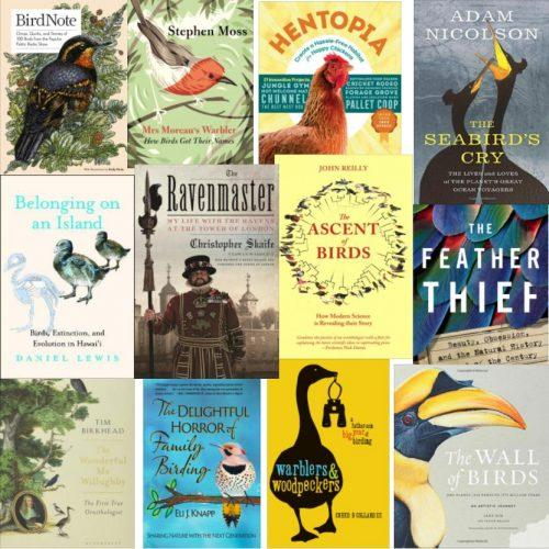 Twelve Of The Greatest Books About Birds And Birding Of 2018