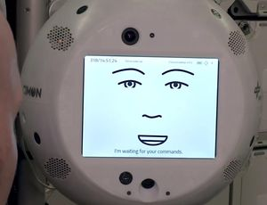 AI assistant CIMON's very first journey to area gets uncomfortable video