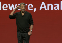 Regardless of Larry Ellison's buzz, this Wall Street expert thinks Oracle will have a bumpy ride growing unless it ends up being more like Amazon (ORCL, AMZN, MSFT)