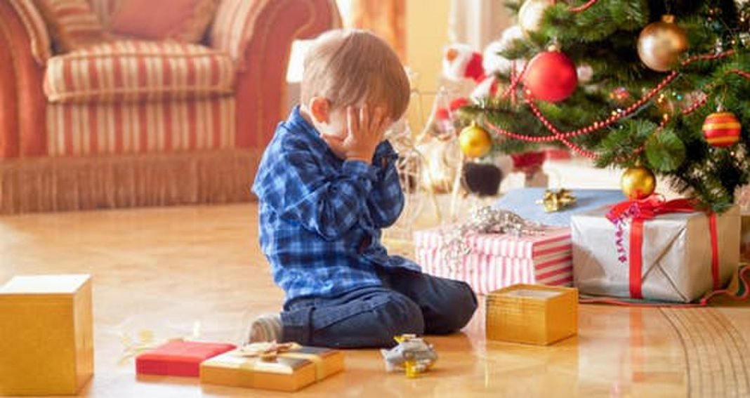 Frustration About Presents Benefits Children Who Have Enough