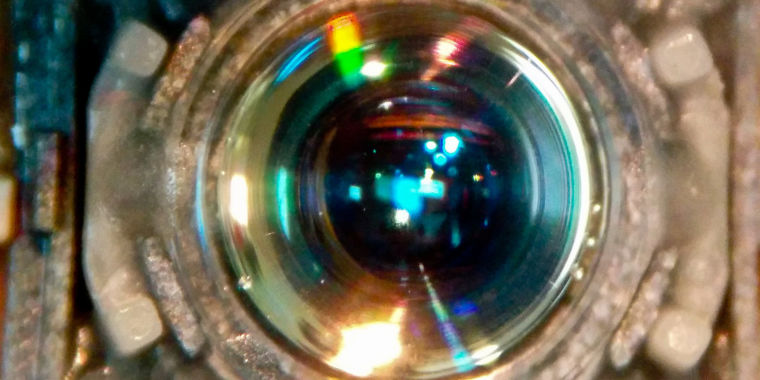 Gas jets make gorgeous lens for light we can't usually focus