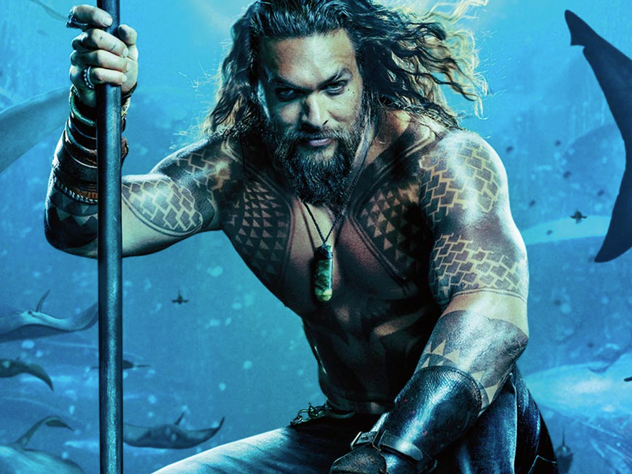 'Aquaman' tops 'Mary Poppins Returns' and 'Bumblebee' to end up being king of the weekend ticket office