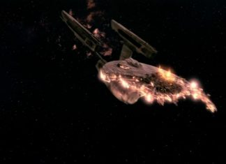 Ars goes into VR and ruins numerous starships in Star Trek: Bridge Team