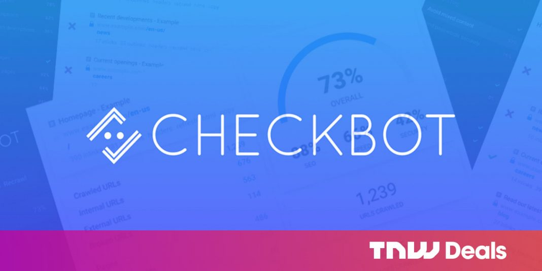 Checkbot does SEO in a different way than other tools. Today, it's $30