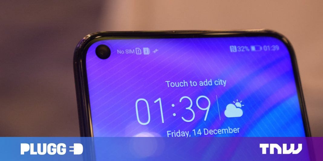 Hands on with the stunning Honor View20