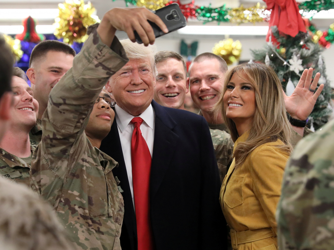 Trump simply checked out a battle zone for the very first time, as brand-new concerns emerge about the bone-spur medical diagnosis that assisted him prevent Vietnam