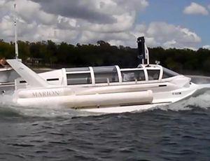 This speedboat can go undersea video