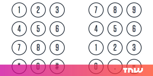 Here's why telephones and calculators utilize various numerical keypads