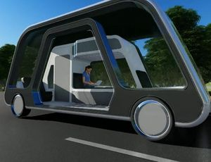 Self-driving hotel space pertains to you like an Uber video