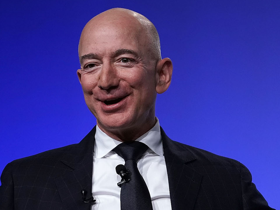The wealthiest individual on the planet, Amazon CEO Jeff Bezos, included more cash to his fortune in 2018 than any other billionaire (AMZN, MSFT, FB)