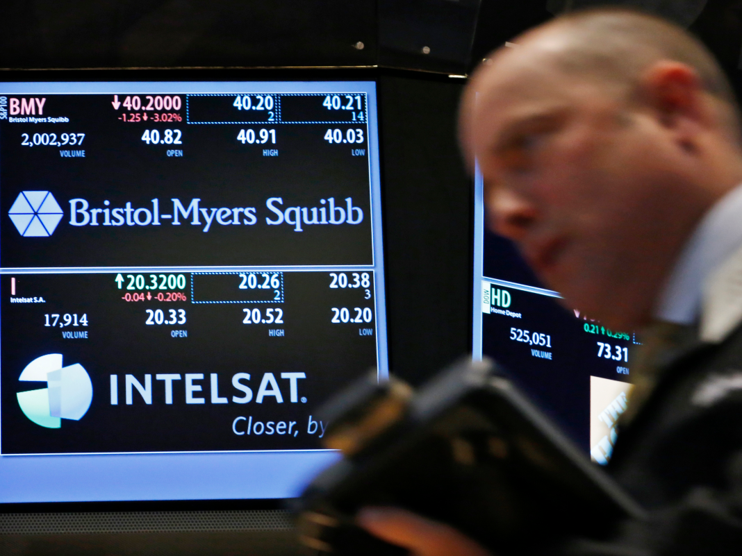 Here's why Bristol-Myers Squibb's record-breaking $74 billion biotech offer is dealing with financier reaction (BMY, CELG)