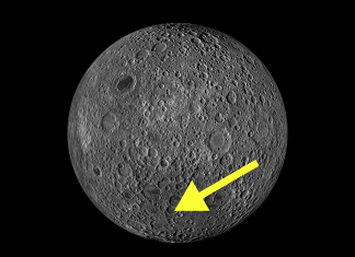This map reveals precisely where China landed its Chang' e-4 spacecraft on the far side of the moon