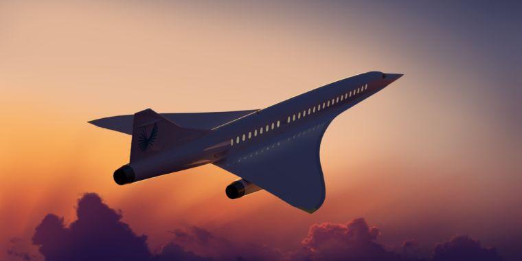 Supersonic traveler jet company raises $100 million, goes for 2019 test flights