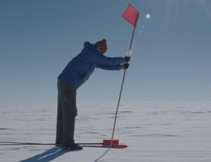 What depends on an arctic lake below 3,500 feet of ice? video