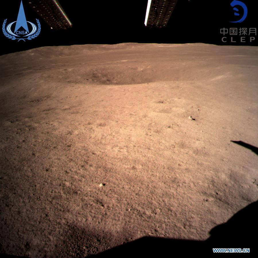 China's Chang' e-4 Arrive on the Far Side of the Moon