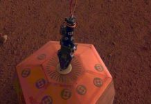 See the NASA Mars InSight seismometer level itself out