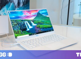 Dell's brand-new XPS 13 puts the web cam above the screen, and all is best with the world