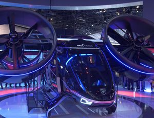Bell Nexus flying taxi might strike the skies next year video