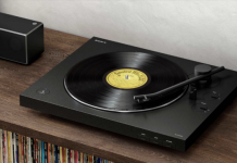 Old, satisfy brand-new: Sony presents a cordless turntable for vinyl records