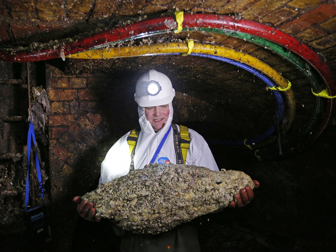 A fatberg longer than the Leaning Tower of Pisa is obstructing another UK drain
