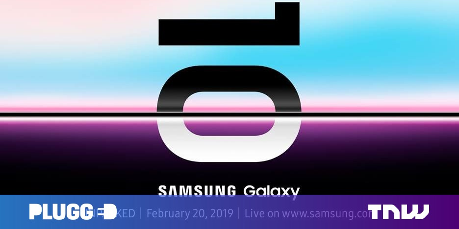 Samsung will formally expose the Galaxy S10 on February 20