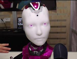 Alexa can now talk to you through a robotic head video