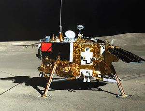 China moon devices snap striking photos of each other