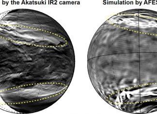 Giant Streak Structure Found in Venus' Cloudtops