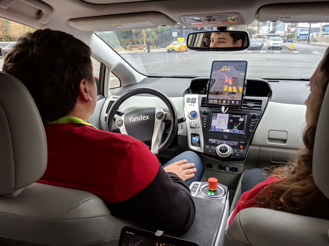 I rode in a self-driving cars and truck for the very first time, and it was run by the Google of Russia– here's what it resembled