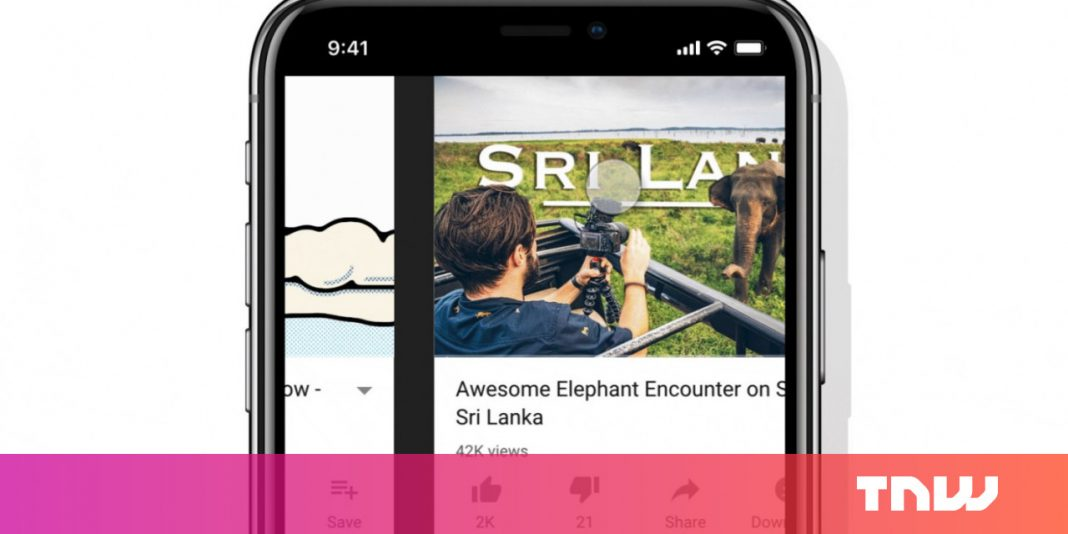 YouTube now lets you swipe through videos like Instagram Stories