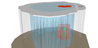 Neutrino Telescopes Look Deep in the Earth and Deep into Area