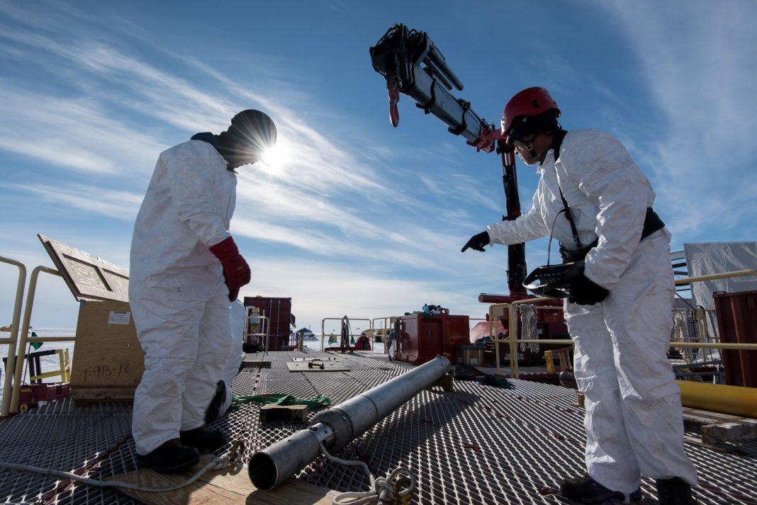Images: Drilling into Antarctic Subglacial Lake Mercer