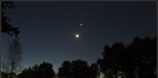 Jupiter Fulfills Venus at Dawn in a Close Combination