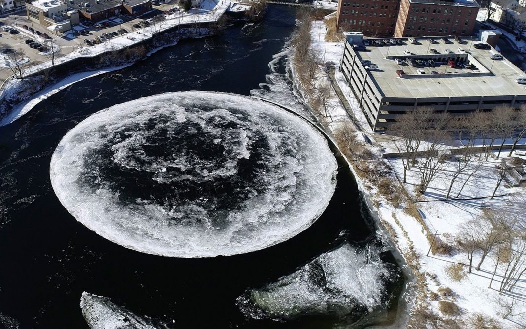 Giant, Spinning Disk of Ice Appears Like Alien Development. Here's How It Formed.