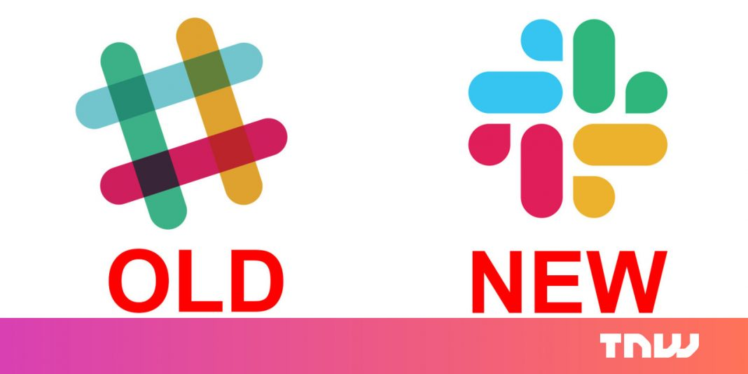 Slack has a brand-new logo design, and, umm, you be the judge