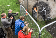 Banksy's newest development, which illustrates a kid licking ash out of the air, simply cost more than $129,000– however that wasn't the greatest deal