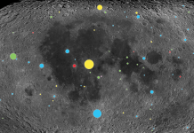View the moon get pounded by 1 billion years' worth of huge asteroids in a 1-minute animation