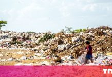 Recycling the world's plastic trash might purchase you the NFL, Apple and Microsoft