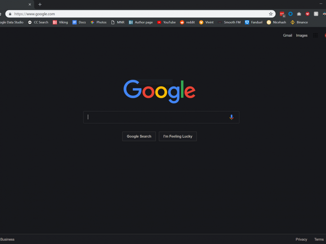 This extremely basic tool provides every site you go to a 'dark mode'