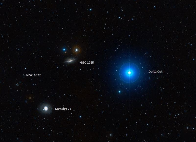 Messier 77– the Cetus A Disallowed Spiral Nebula