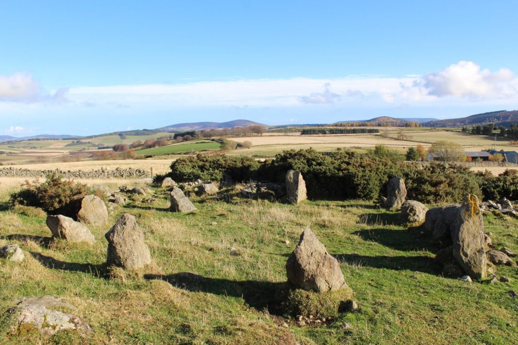 'Ancient' Stone Circle Really Integrated In 1990 s by Scottish Farmer