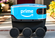 Amazon has actually exposed a brand-new autonomous-delivery robotic called 'Scout' (AMZN)